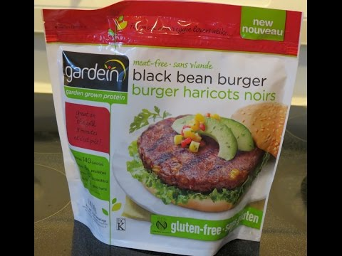 Gardein Black Bean Burger: Product Review!