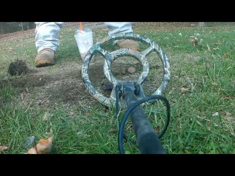 Metal Detecting a old Connecticut fairground