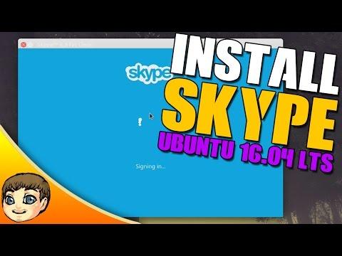 How to Install Skype in Ubuntu 16.04 LTS // Ubuntu 16.04 Tips