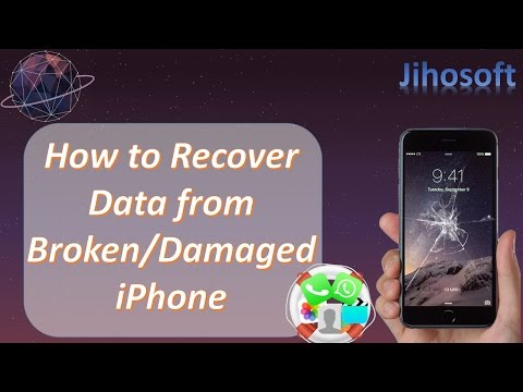 How to Recover Photos and More Data from Broken/Damaged iPhone 7/6S/6/5S/5