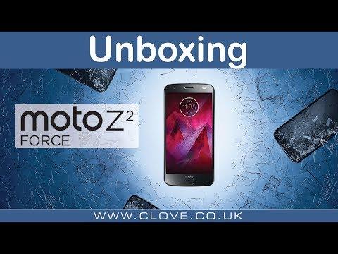 Moto Z2 Force Unboxing