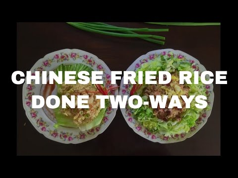 Chinese Fried Rice Done In Two Ways