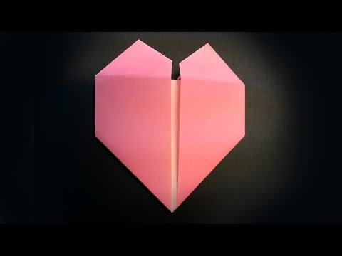 How to Fold an Origami Heart