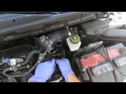 How to replace Camshaft Sensor on 12-20 Nissan Rogue Qashqai Altima  Location
