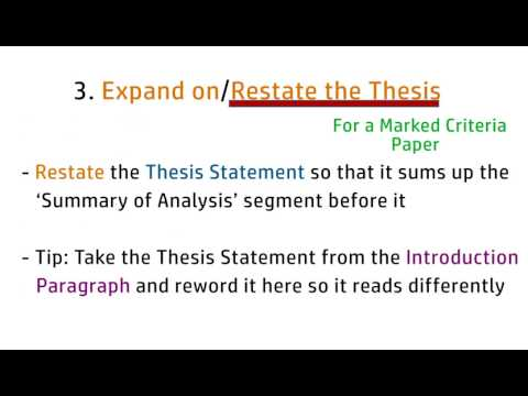 How to write a Conclusion Paragraph (Line-by-line Tutorial) (Dreadful Deadlines Ep.5)