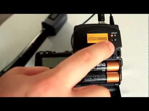 Audio for Video - Sennheiser G3 evolution wireless camera kit