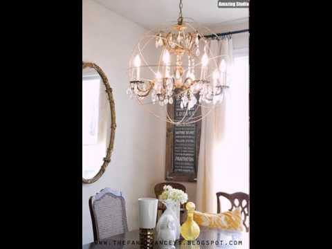 Restoration Hardware Knockoff DIY Orb Chandelier