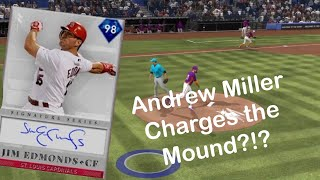 Signature Series Jim Edmonds Debut!!! Andrew Miller Charges the Mound!?! MLB 19 Diamond Dynasty