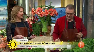Julmiddag dan före dan med Fredrik Eriksson - Nyhetsmorgon (TV4)