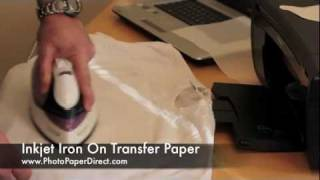 Iron On Transfer Paper Tutorial By Photo Paper Direct