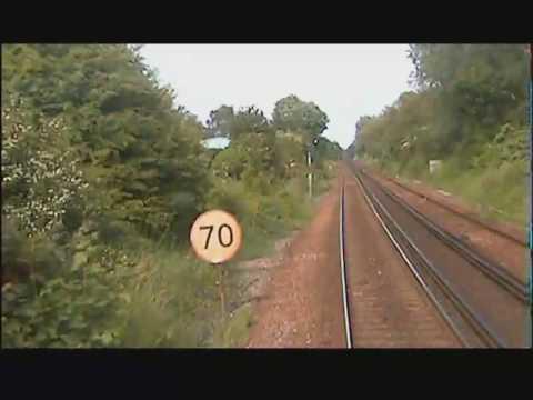Ashford to Ramsgate - Drivers Eye View 2004
