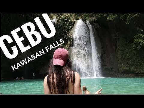 KAWASAN FALLS, CEBU- Philippines Travel Vlog #6