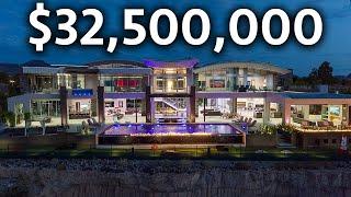 Inside the MOST EXPENSIVE Mega Mansion in Las Vegas   Modern Smart Home