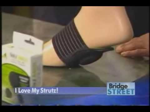 Strutz Cushioned Arch Supports Stand & Walk Relief For Achy Feet
