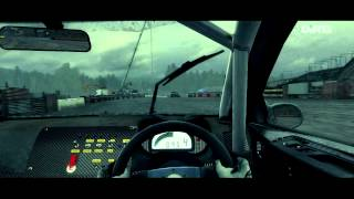 Dirt 3(PC)-American Rally X on Smelter gameplay.