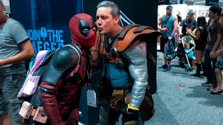 Deadpool at Comic-Con 2017 Day 4