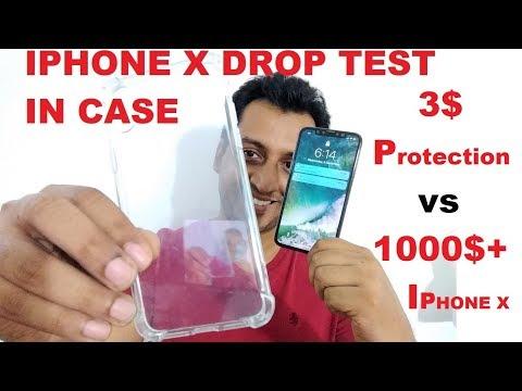 IPHONE X DROP TEST IN 3$ CASE