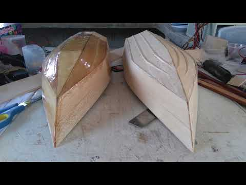 Homemade RC Boat's - Building part.1 / First Test