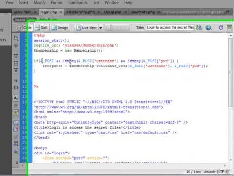 Building A Login App