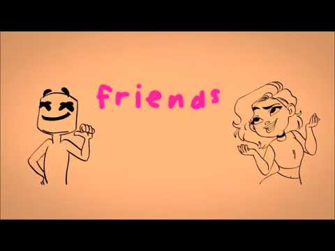 Marshmello ft Anne-Marie - Friends (Clean)