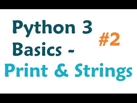 python 3 print function