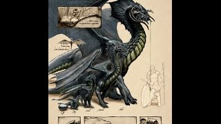 The Mighty Gluestick: Monsters: The Black Dragon