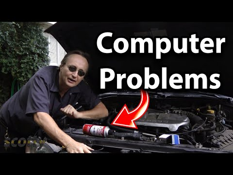 How to Fix Computer Problems in Your Car with a Little Spray Cleaner