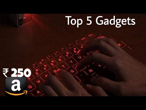 Top 5 cool gadgets that you can buy on Amazon   Cool gadgets   Techno Buzzer