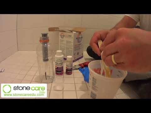 How to Repair Grout in Your Shower - Super Grout Additive - Ted's Demonstration