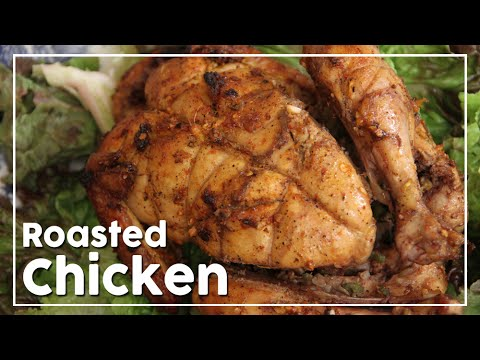 Perfect Homemade Roast Chicken - Family Dinner Recipe - My Recipe Book By Tarika Singh