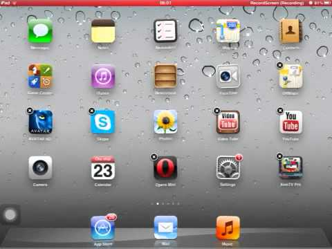 How to delete safari on IPAD,IPHONE AND IPOD TOUCH