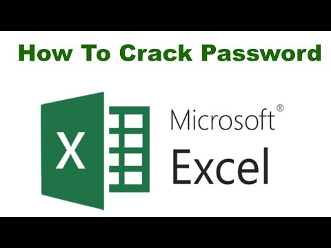 How to Open Password Protected Excel Sheet With Out Any Software 2018
