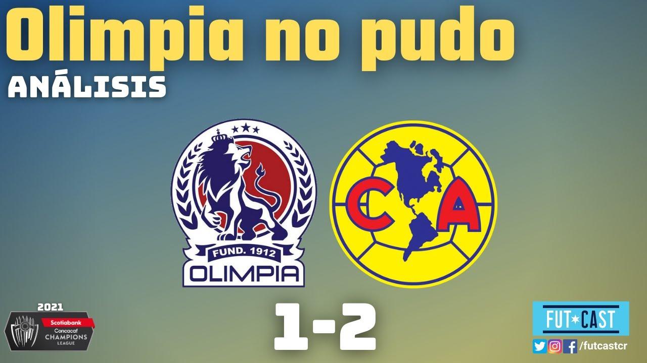 Oilmpia no pudo en casa contra el América   Liga de Campeones de CONCACAF 2021 #SCCL21