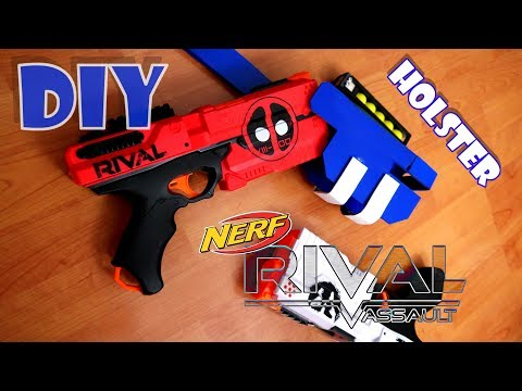 [TUTORIAL] How to make a Drop Leg Holster for the NERF RIVAL KRONOS / DIY #rivalweeks
