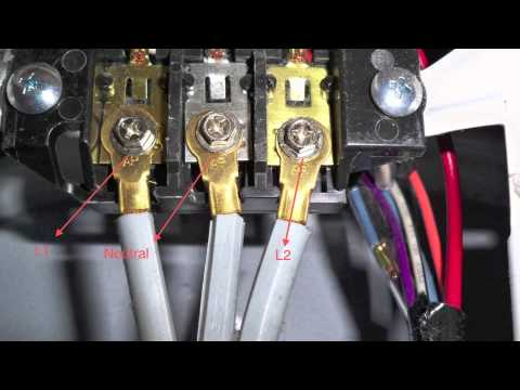 DIY 3 Prong dryer cord wiring appliance repair dryer not