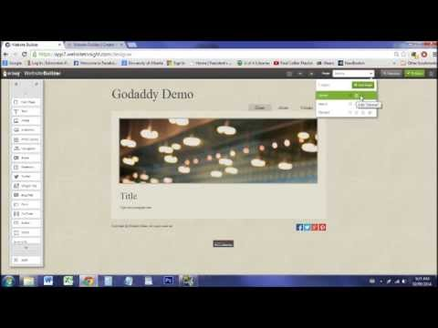 How to Make a Website: GoDaddy Website Builder Overview/Tutorial