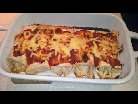 Quick & Easy Shredded Pork Enchiladas (Dr Poon / Low Carb)