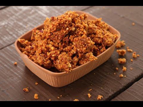 Dry Peanut Chutney | Sanjeev Kapoor Khazana
