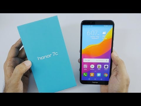 Honor 7C Affordable Smartphone Unboxing & Overview