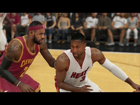 NBA 2K15 Xbox One Gameplay - LeBron James vs Dwyane Wade! Cavaliers vs Miami Heat Full Game!