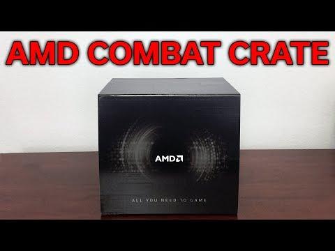 AMD Combat Crate - Ryzen 5 1600 + B350 + RX 580 8GB - Review