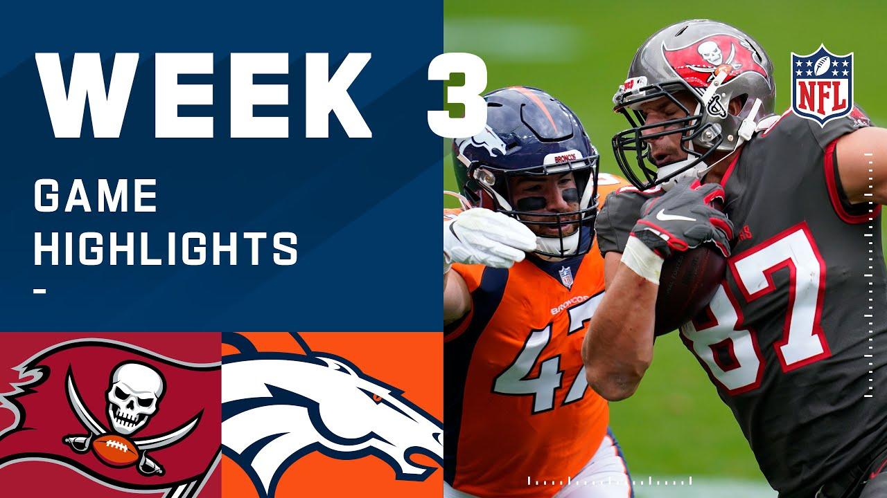 Buccaneers vs. Broncos Week 3 Highlights | NFL 2020