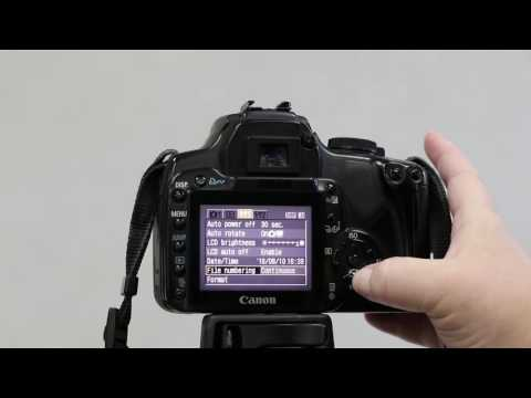 How to Format the Memory Card on a Canon XTi