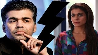 Karan Johar REFUSES to comment on FIGHT with Kajol | Video