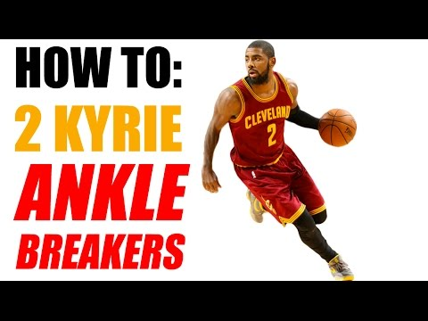 How To: 2 Kyrie Irving ANKLE BREAKERS - NBA Crossovers - Basketball Moves | Sponsored by Nike
