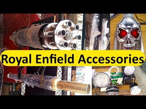 Royal Enfield Bullet Accessories || Top 5 Extra Accessories Standard BS4 BS3 Delhi