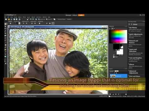 Resize an Image in PaintShop Pro X4