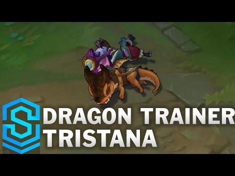 Dragon Trainer Tristana Skin Spotlight - Pre-Release - League of Legends