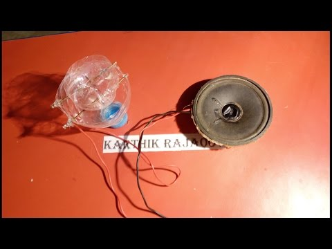 How to make Microphone simple(no  amplifier,no circuit,no IC)