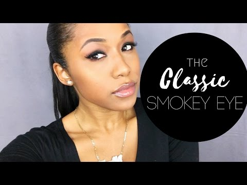 Classic Black Smokey Eye | Beginner Friendly